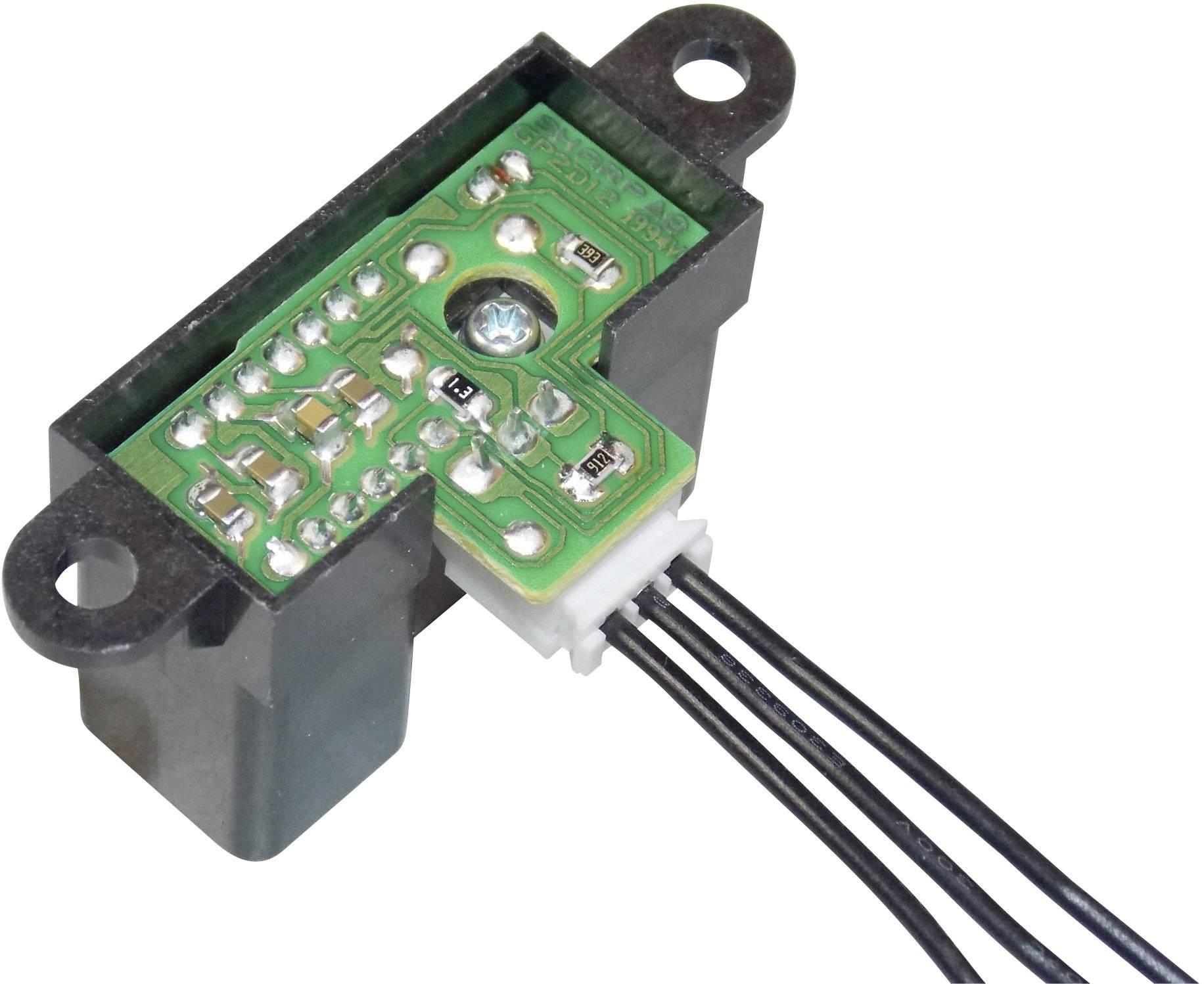 Senzor na meranie vzdialenosti Sharp GP2Y0A02YK, rozsah 20 - 150 cm, 5 V/DC