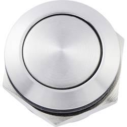 Tlačítka zvonku 1násobné Heidemann 70524 nerezová ocel 48 V AC/2 A