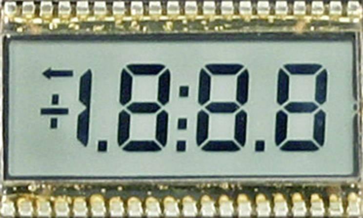 LCD displej 4místný, SE 6904, 50,8 mm, černá/bílá