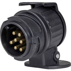 Adaptér pro zapojení přívěsu as - Schwabe 60439, [13 pólová zástrčka - 7 pólová zástrčka], 12 V