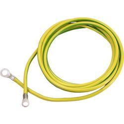 As-Schwabe zemnicí kabel 3 m žlutá/zelená 3m H07V-K 16 mm 70869 as - Schwabe 70869, 1 ks