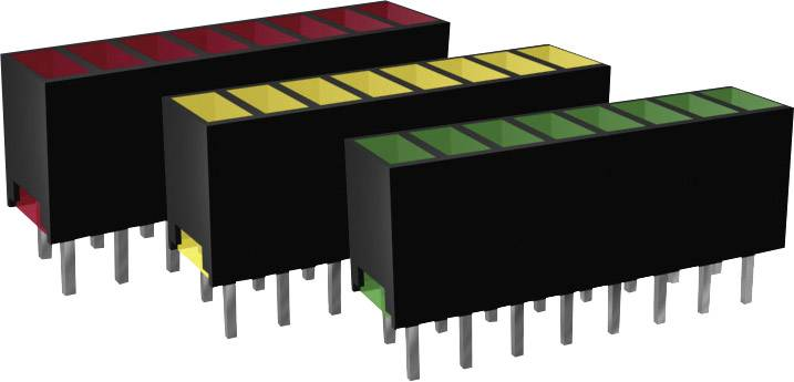 LEDséria Signal Construct ZAQS 0817 (d x š x v) 20 x 7 x 4 mm, žltá