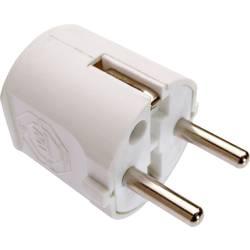 Zástrčka as - Schwabe 45031, PVC, IP20, 230 V, bílá