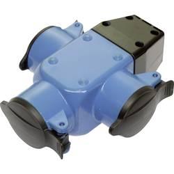 Zásuvka as - Schwabe 60057, IP44, 230 V, modrá