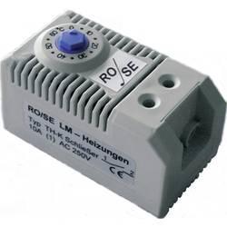Termostat do skříňového rozvaděče Rose LM TH-K, (hystereze cca 6 K) 0 - +60 °C
