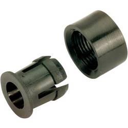 Objímka pro LED 5 mm, RTC-52, plast, černá