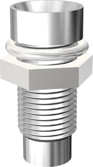 Pochromovaná objímka pro LED 3mm