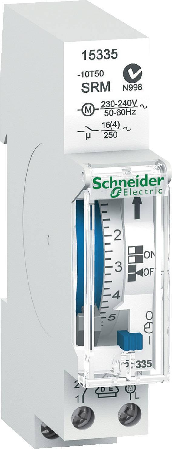 Časovač na DIN lištu Schneider Electric 15335, 230 V