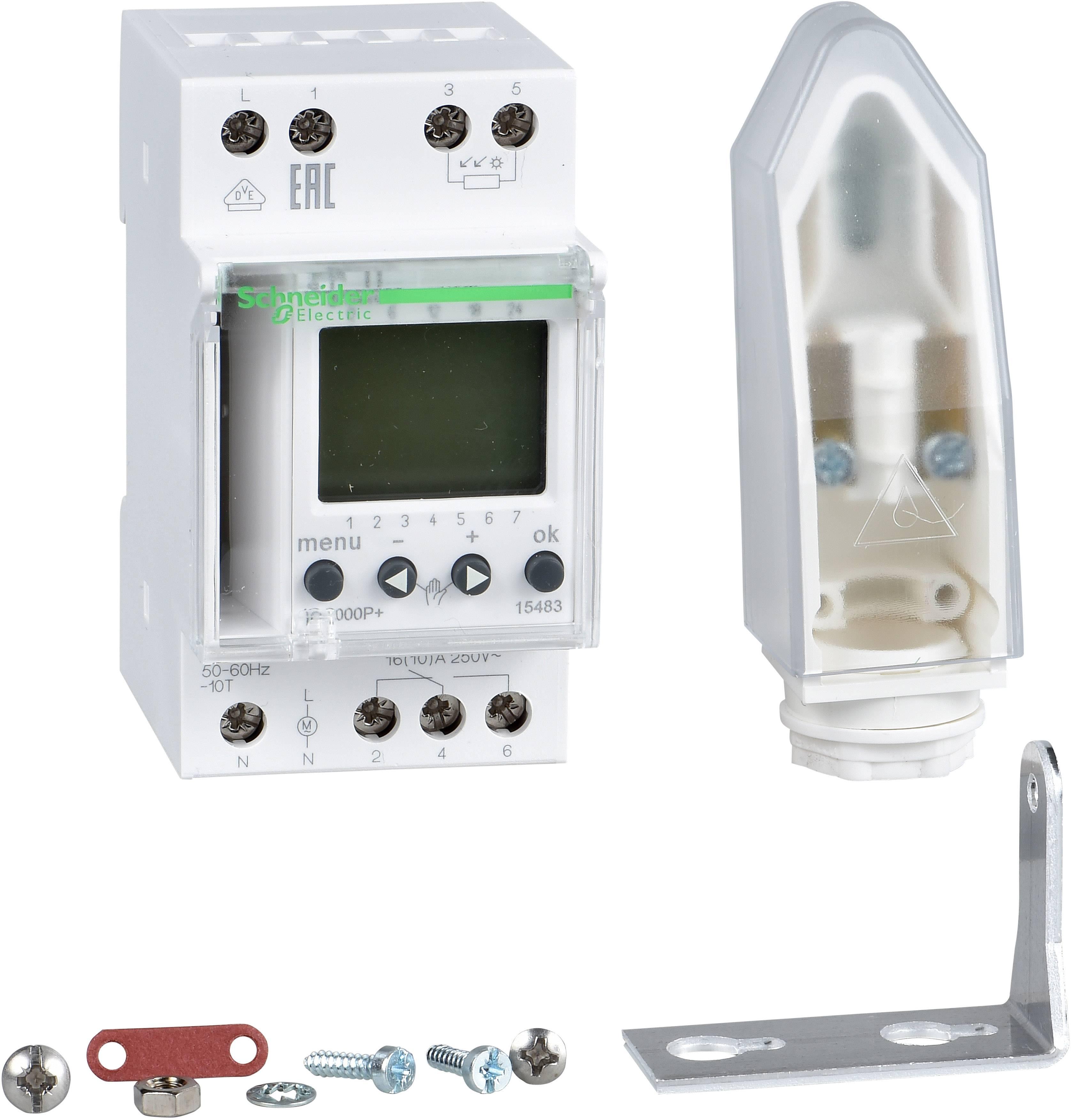 Soumrakový spínač Schneider Electric IC2000P+ 15483 Schneider Electric 15483
