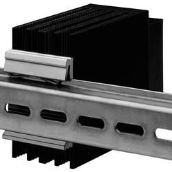 Násuvný chladič - DIN lišta, délka 75 mm