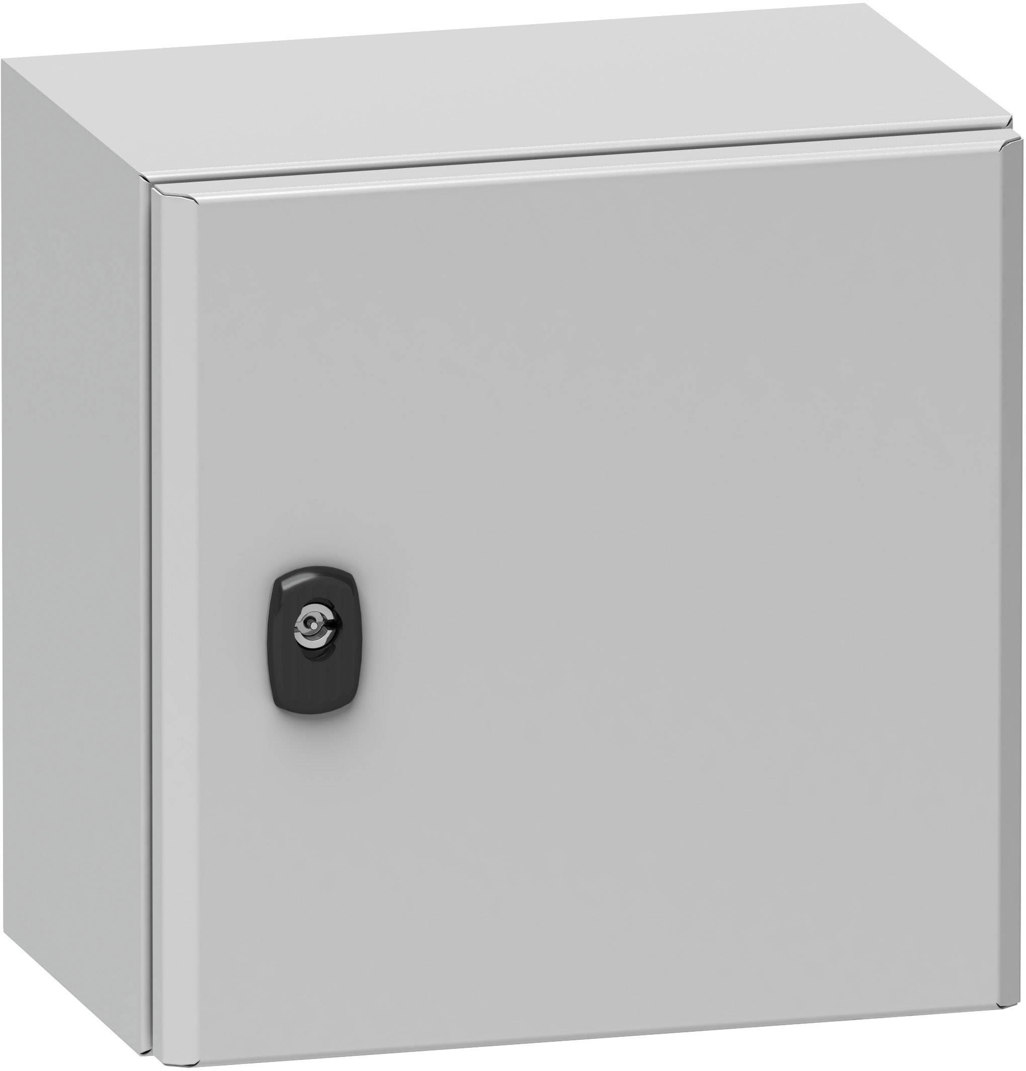 Pouzdro Schneider Electric NSYS3D6420P NSYS3D6420P, (š x v x h) 400 x 600 x 200 mm, ocel, šedá (RAL 7035), 1 ks