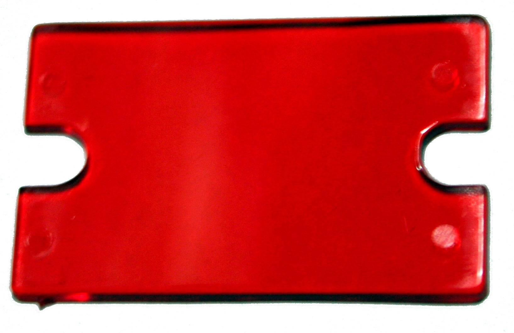 Filtr pro LCD Strapubox, typ FS21, červená