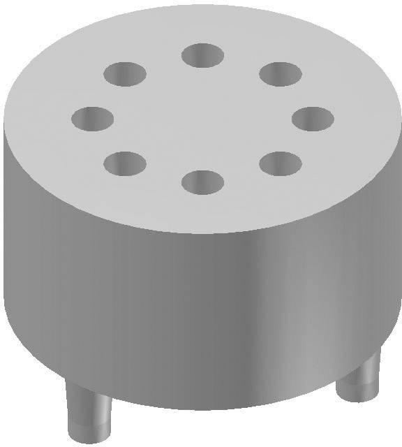 Tranzistorová patice Fischer Elektronik MS 58-7, 8 vývodů