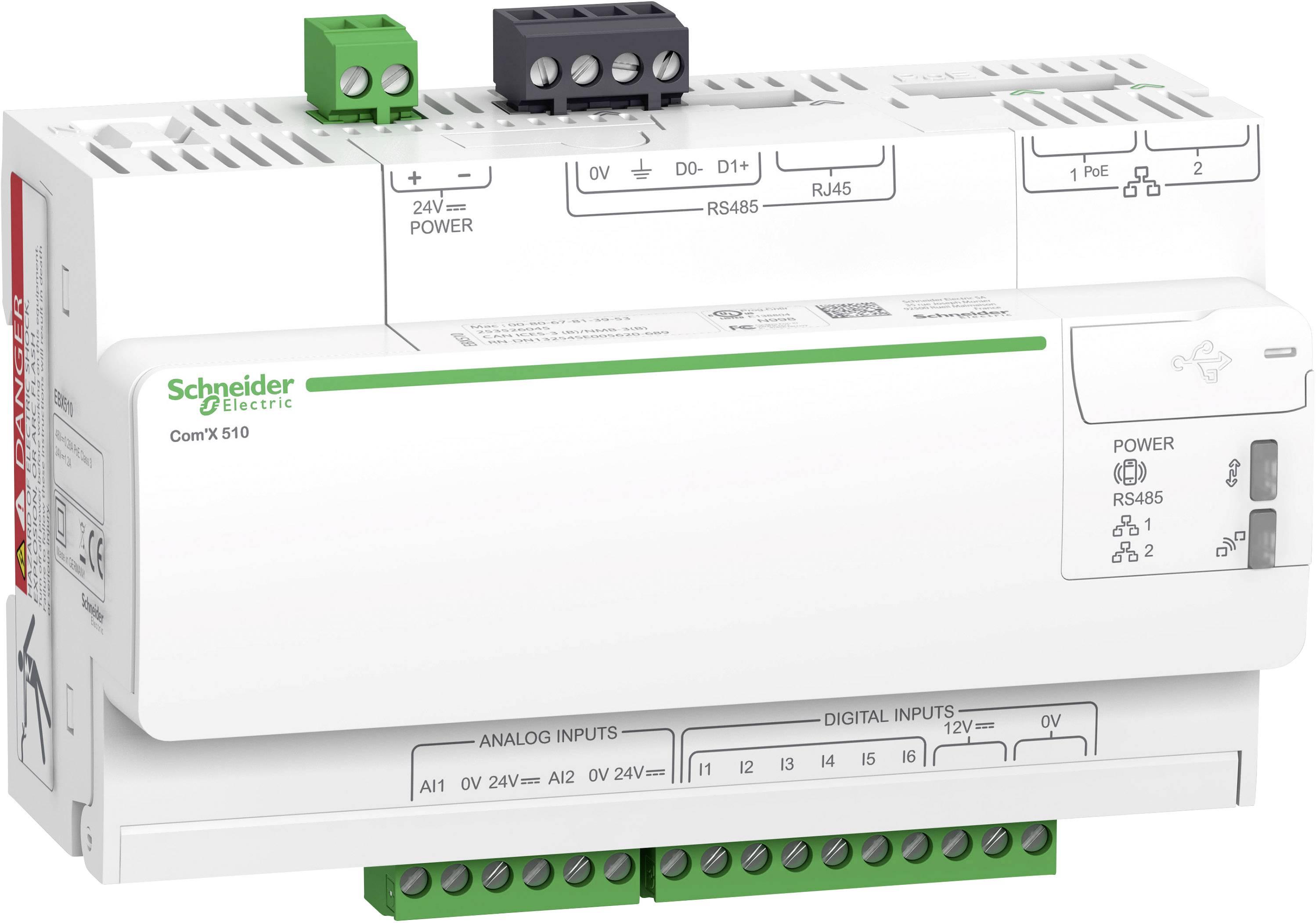 Měřič spotřeby el. energie Schneider Electric Modelů EBX510, EBX510