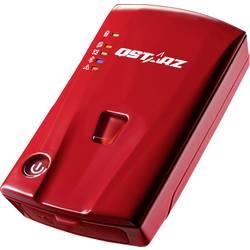 GPS logger Qstarz BL-1000ST BL-1000ST, lokátor osob, červená
