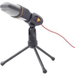 Gembird MIC-D-03 PC mikrofon černá kabelový vč. stativu