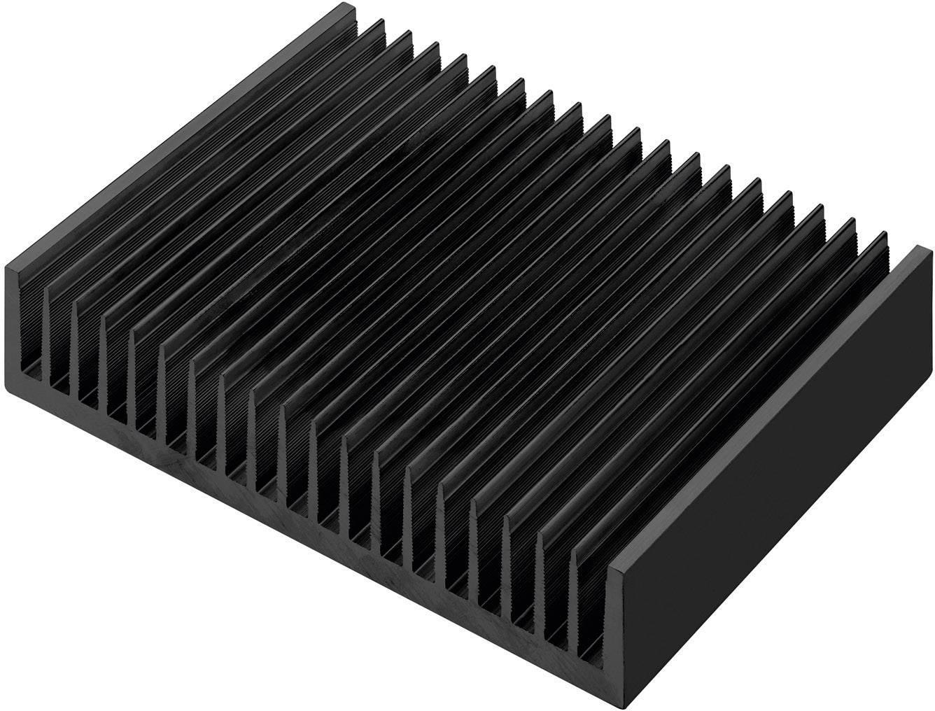 Profilový chladič Pada Engineering 8071/75/N, 200 x 40 x 75 mm, 1,06 K/W