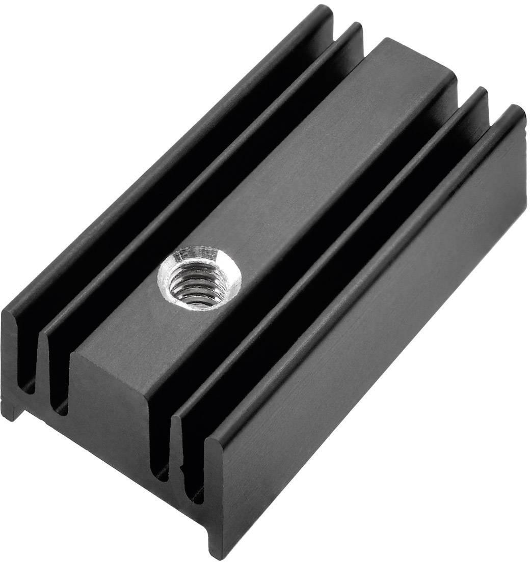 Profilový chladič Pada Engineering 8152/25/ST, 54 K/W, (d x š x v) 25 x 12.4 x 6.5 mm