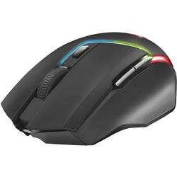 Optická herní myš Trust GXT161 Disan 22210, s podsvícením, lze znovu nabíjet, černá