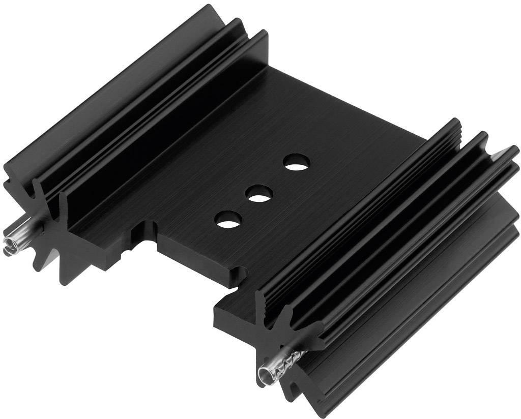 Profilový chladič Contrinex CTX/409/38 + PIN, 45 x 38,5 x 12,7 mm, 7 K/W
