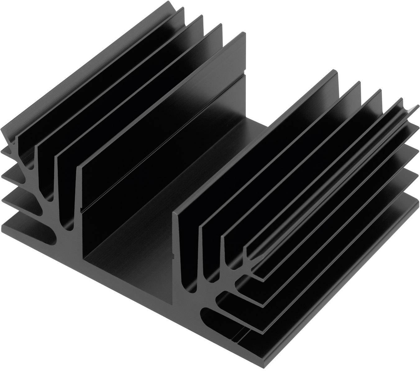 Chladič CTX Thermal Solutions CTX08/100 CTX08/100, 1.5 K/W, (d x š x v) 100 x 88 x 35 mm