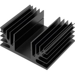Chladič CTX Thermal Solutions CTX08/37 CTX08/37, 2.8 K/W, (d x š x v) 37 x 88 x 35 mm