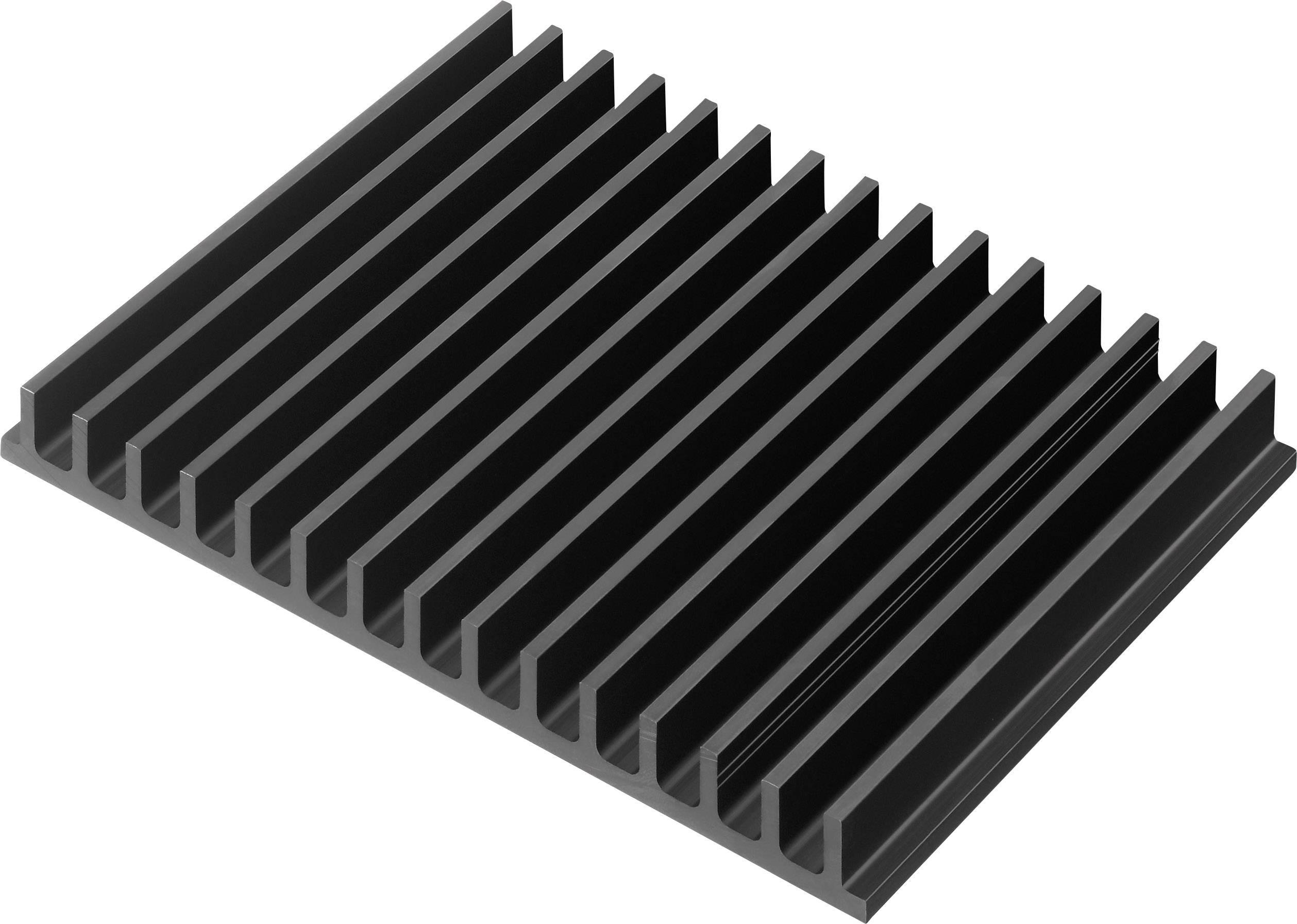Profilový chladič Contrinex CTX44/100, 159 x 15 x 100 mm, 1,7 K/W