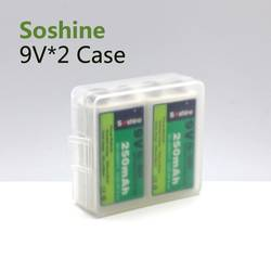 Úložný box na baterie 9 V Soshine (d x š x v) 54 x 52 x 19 mm