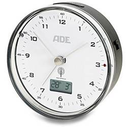 Elektronické rádiové hodiny ADE CK 1713, bílá/černá