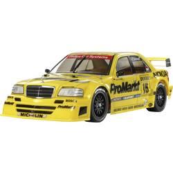 RC model auta Tamiya ProMarkt-Zakspeed Mercedes Benz C-Klasse, 1:10, elektrický, 4WD (4x4), stavebnice