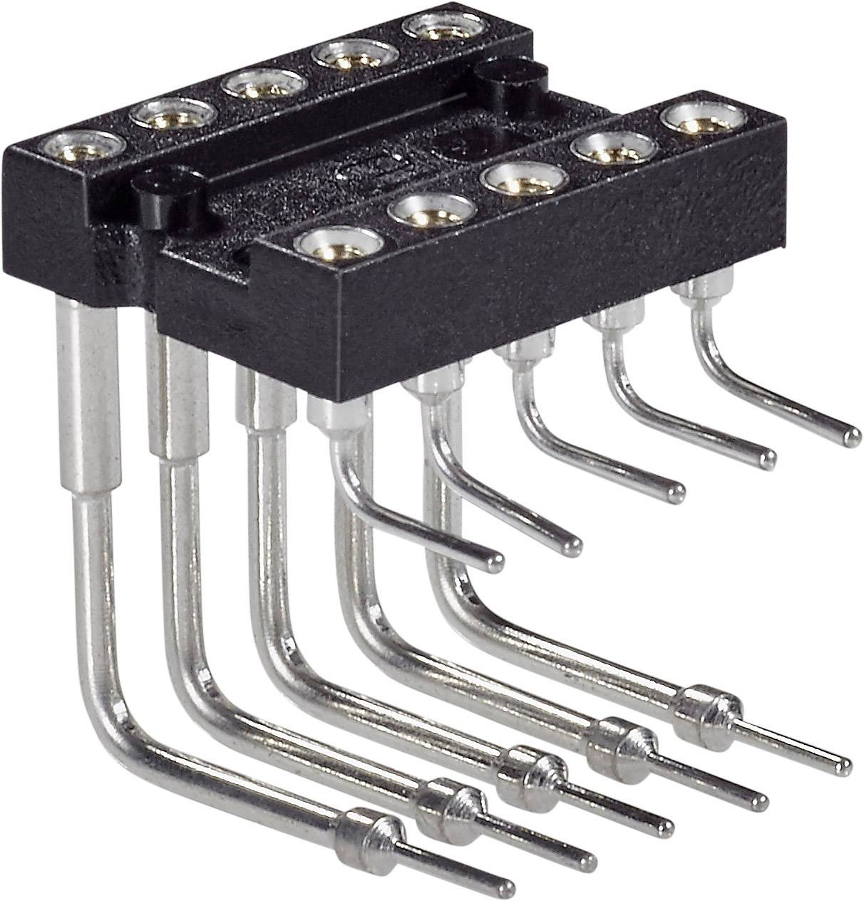 IC pätica Preci Dip 299-87-320-10-001101 piny v uhle 90 °, rozteč 7.62 mm, pólů 20, 1 ks