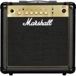 Zesilovač elektrické kytary Marshall MG15G černá