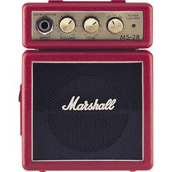 Zesilovač elektrické kytary Marshall MS-2R červená