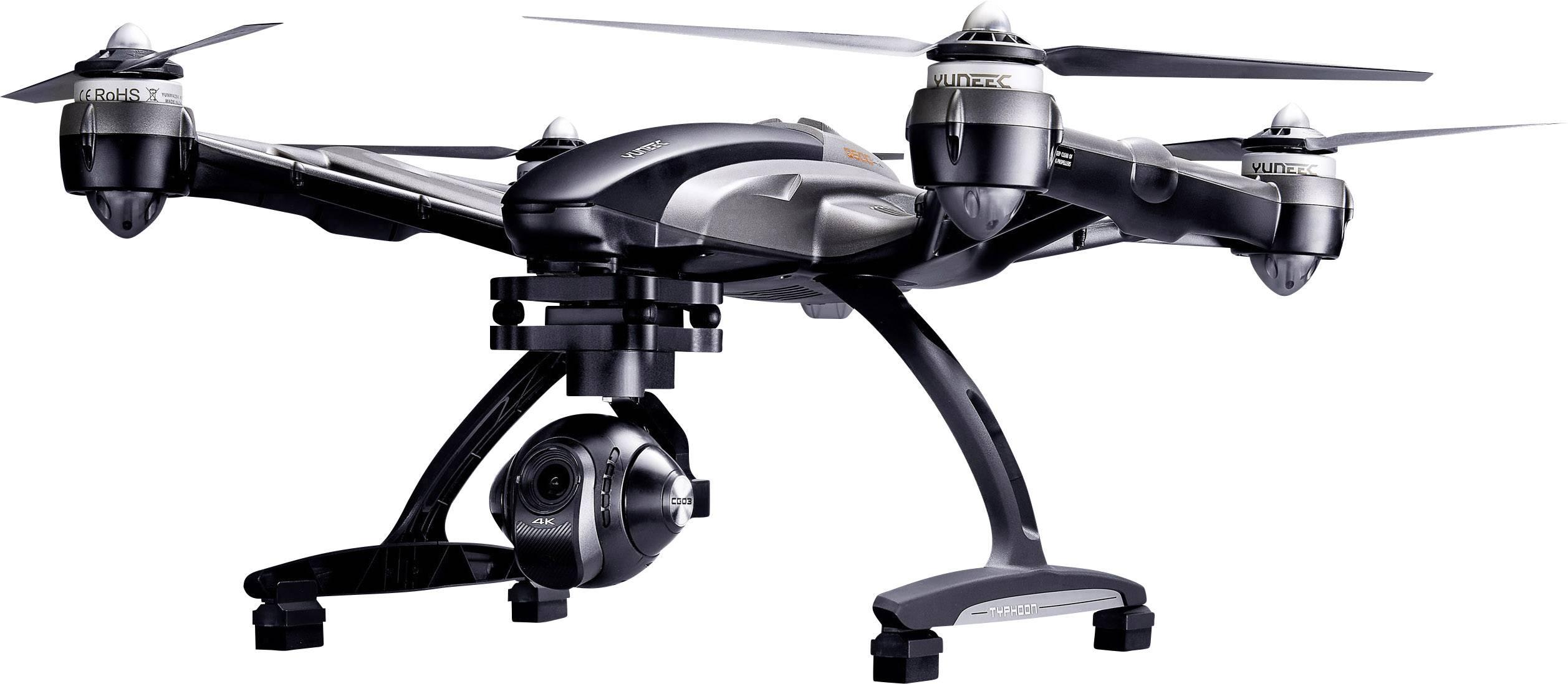 Dron Yuneec Typhoon Q500 4K, RtF, s kamerou