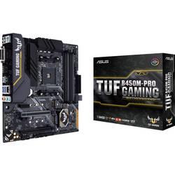 Základní deska Asus TUF B450M-Pro Gaming Socket AMD AM4 Tvarový faktor Micro-ATX Čipová sada základní desky AMD® B450