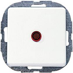 Tlačítko vestavný REV 0501672551, bílá