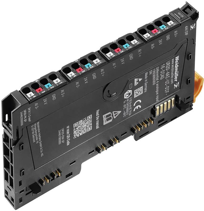 Rozšiřující modul pro PLC Weidmüller UR20-4AI-UI-16-DIAG, 1315690001