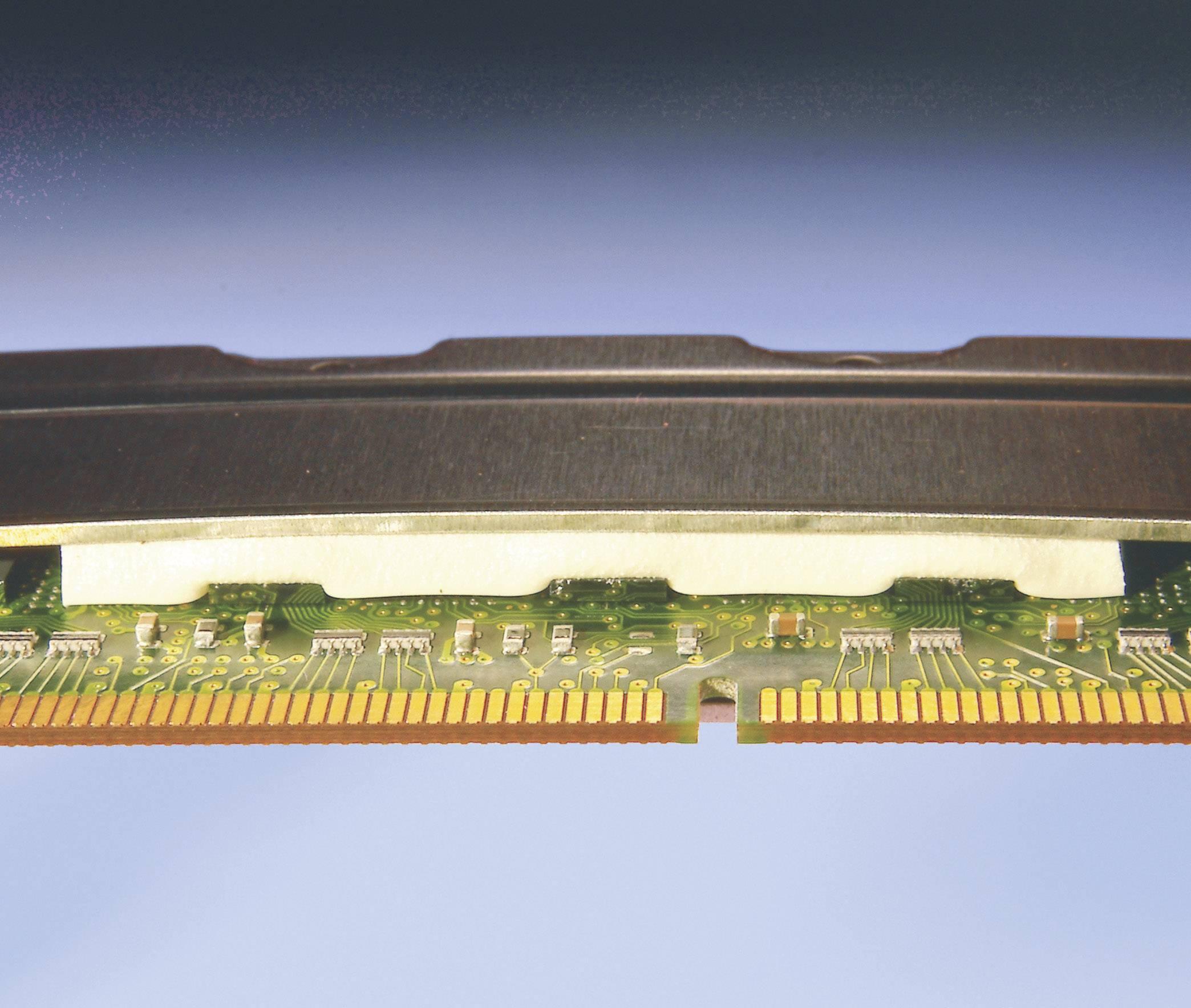 Teplovodivá fólia Kerafol SOFTTHERM 86/200, 3 mm, 1 W/mK, (d x š) 50 mm x 50 mm