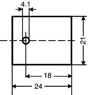 Slídová podložka Fischer Elektronik GS 218, (d x š) 24 mm x 21 mm, vhodné pro TO-218, 1 ks