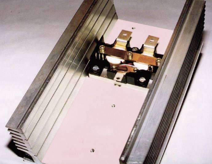 Teplovodivá fólia Kerafol KERATHERM różowy 86/52, 0.225 mm, 2.5 W/mK, (d x š) 100 mm x 100 mm