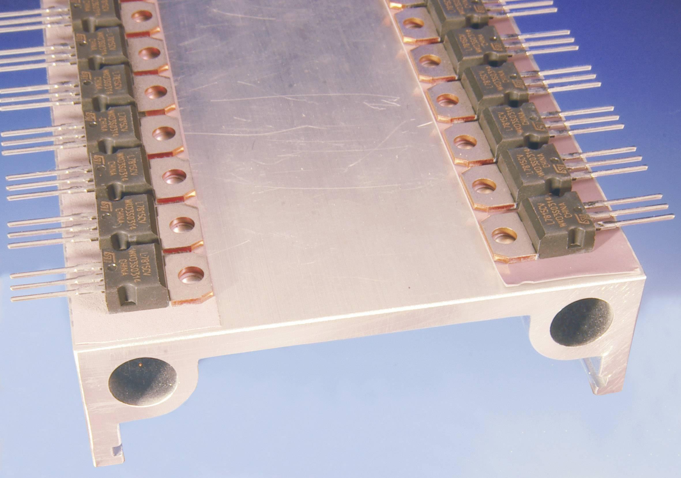 Teplovodivá fólia Kerafol KERATHERM czerwony 86/82, 0.25 mm, 6.5 W/mK, (d x š) 190 mm x 190 mm
