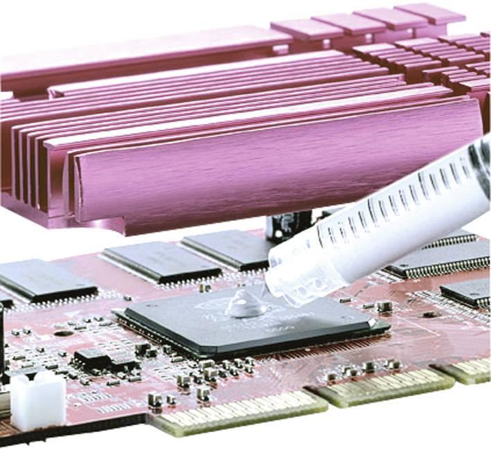 Teplovodivá pasta Keratherm nesilikonová Kerafol KP 12,-60 - +150°C, obsah 4,2g