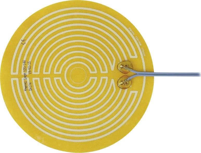 Tepelná fólia samolepiaci Thermo 2115263, 12 V/DC, 12 V/AC 14 W Spôsob ochrany IPX4, (Ø) 174 mm