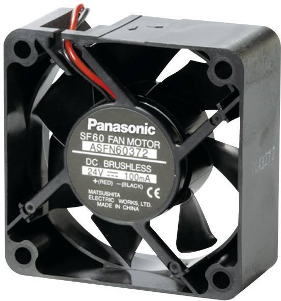 DC ventilátor Panasonic ASFN60372, 60 x 60 x 25 mm, 24 V/DC
