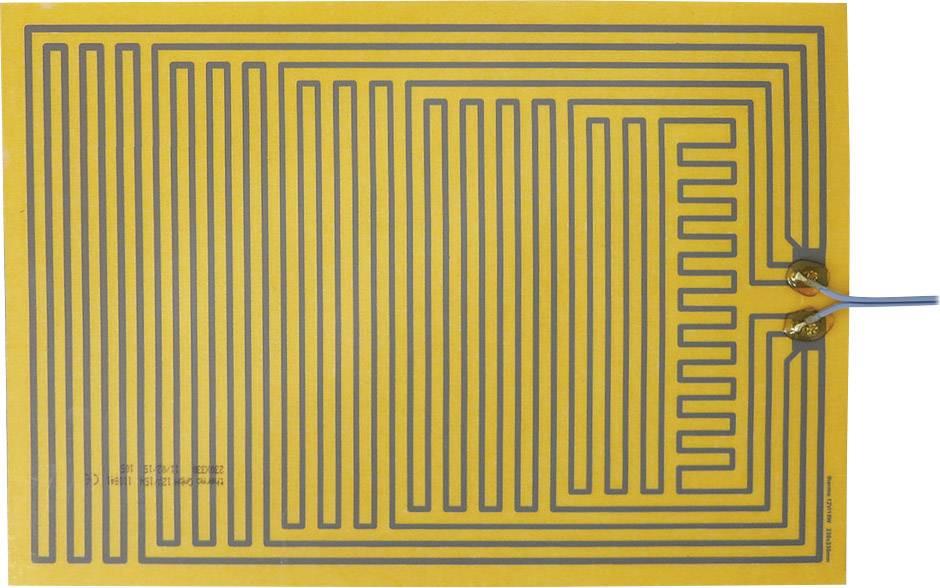 Tepelná fólia samolepiaci Thermo 2115266, 12 V/DC, 12 V/AC 15 W Spôsob ochrany IPX4, (d x š) 330 mm x 230 mm