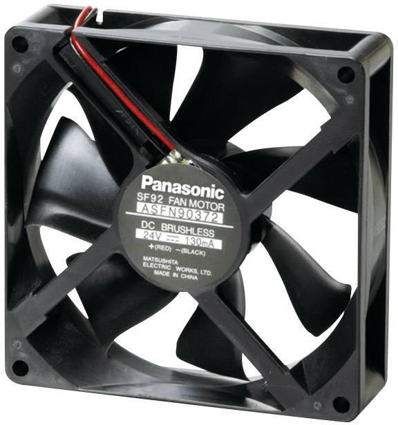 Axiálny ventilátor Panasonic ASFN94372 ASFN94372, 24 V/DC, 22 dB, (d x š x v) 92 x 92 x 25 mm