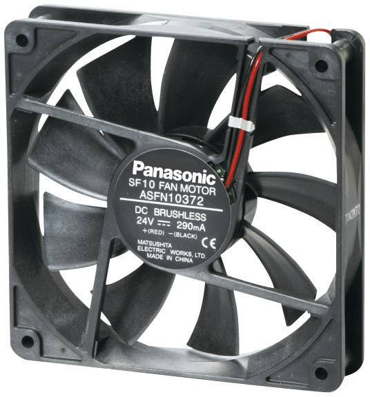 DC ventilátor Panasonic ASFN16B92, 120 x 120 x 38 mm, 24 V/DC