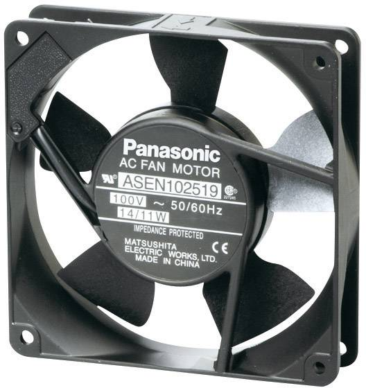 AC ventilátor Panasonic ASEN102529, 120 x 120 x 25 mm, 115 V/AC