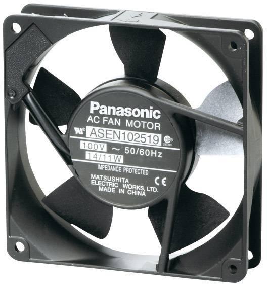 Axiálny ventilátor Panasonic ASEN104529 ASEN104529, 115 V/AC, 41 dB, (d x š x v) 120 x 120 x 38 mm