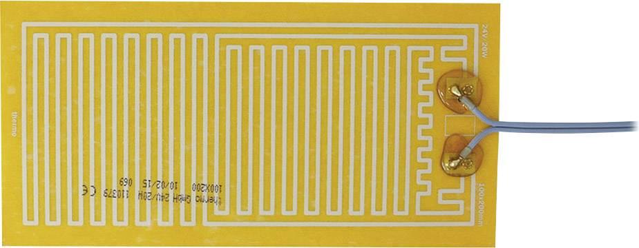 Tepelná fólie samolepicí Thermo 24 V/DC, 24 V/AC, 20 W, krytí IPX4, (d x š) 200 mm x 100 mm